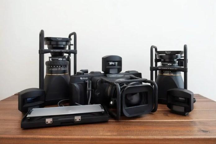 My Fuji Panorama GX617 family