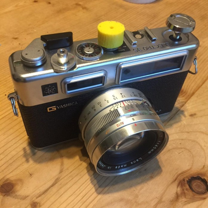 Adding manual shutter speeds to Yashica Electro 35 series cameras - 35mmc