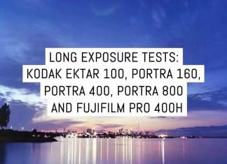 Cover - Long exposure film tests part three- Kodak Professional Ektar 100, Portra 160, Portra 400, Portra 800 and Fujifilm PRO 400H by Toni Skokovic