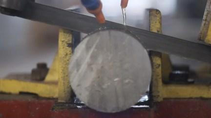 Creating the GX-Pan - Horizontal bandsaw