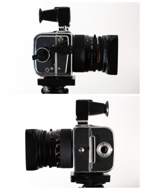 Hasselblad 903 SWC review - Side-on