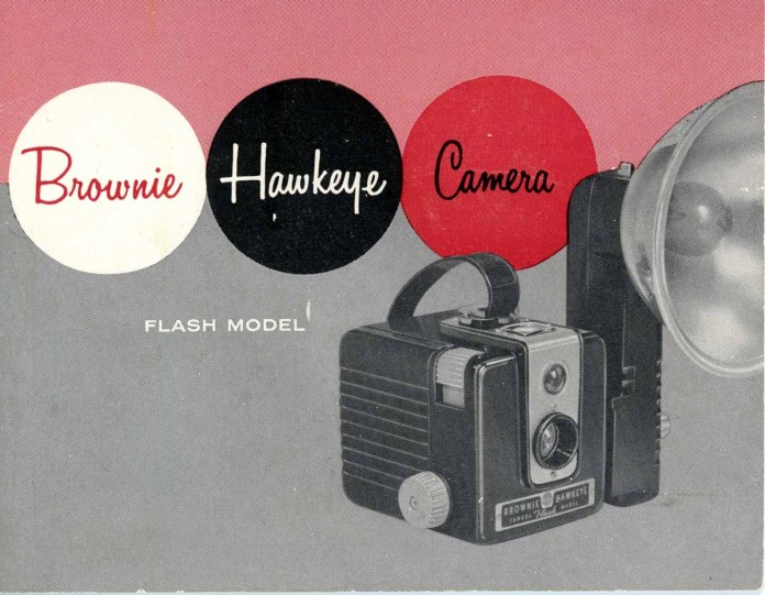 Cover of Kodak Brownie Hawkeye Flash Model manual