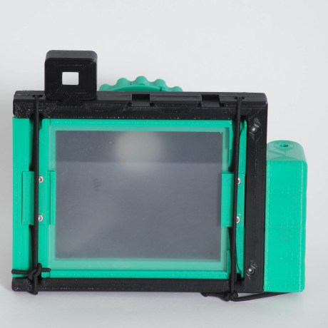 CAMERADACTYL OG 4x5 ground glass (plain glass)