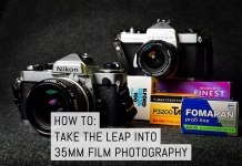 Cover - How to take the leap into 35mm film photography