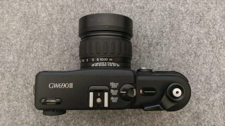 Fuji GW690III - Setting the film counter