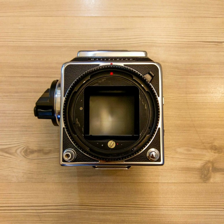 Hasselblad 2000FCW body - Front