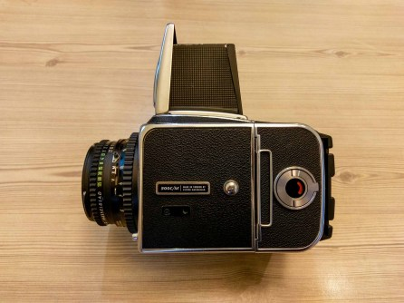 Hasselblad 500CM + Zeiss Planar C T* 80mm f2-8