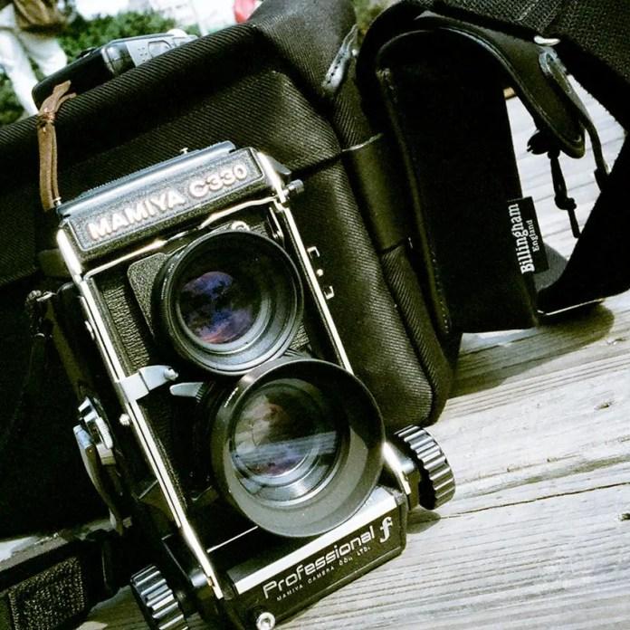 Mamiya C330F Professional shot on Kodak VISION3 250D (5207) at EI 500