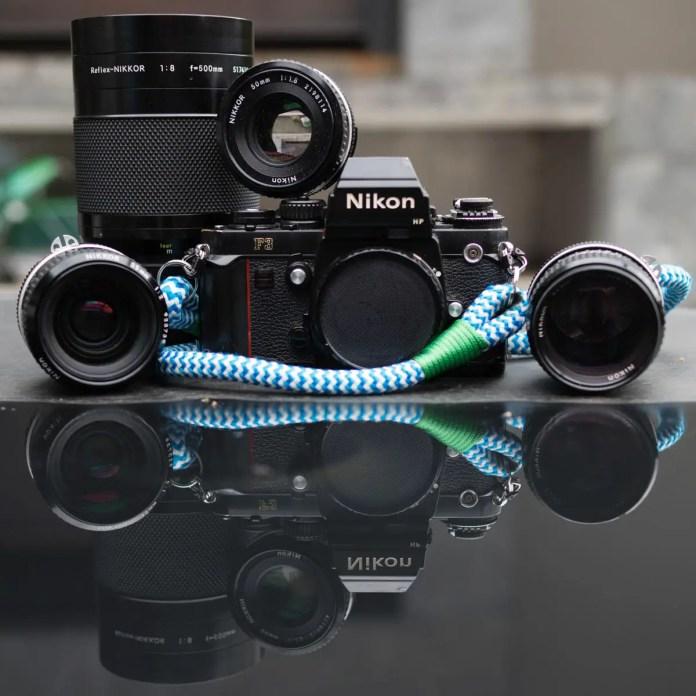 My Nikon F3 and family