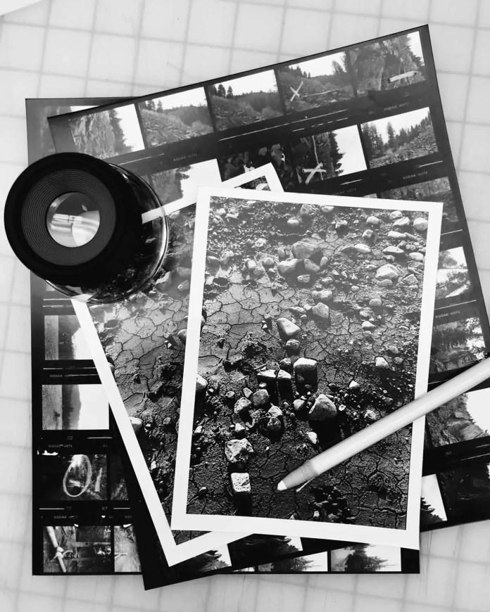 Prints in progress
