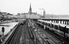 Stockholm, Sweden - Nikon F4 | Ilford XP2 Super