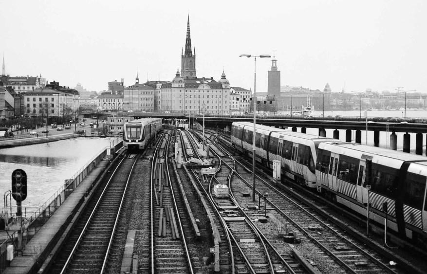 Stockholm, Sweden - Nikon F4   Ilford XP2 Super