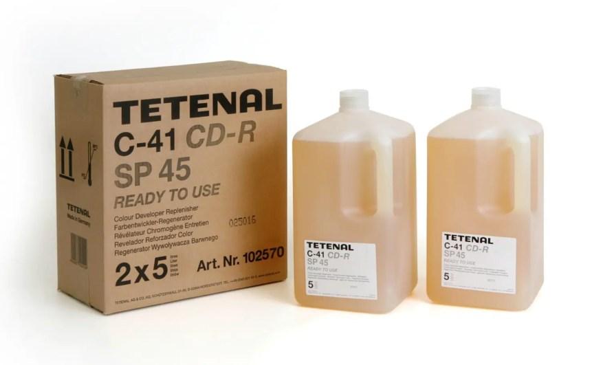 Tetenal C-41 Colour Developer Replenisher SP45 Low Rate (via http://www.tetenaluk.com)