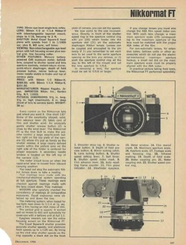 Modern Guide 1967 - Nikkormat FT