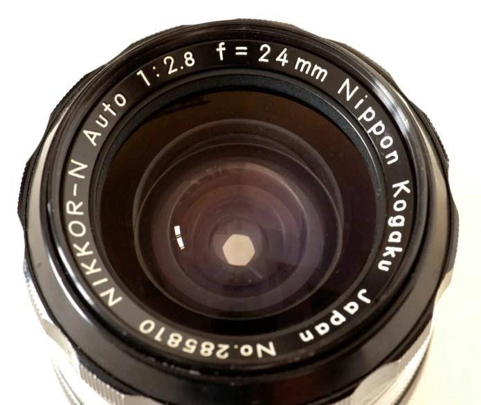 Nikkor-N Auto 24mm f/2.8