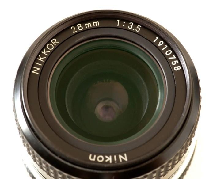 Nikkor 28mm f/3.5
