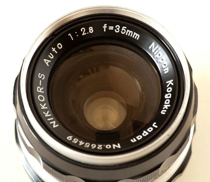 Nikkor-S Auto 35mm f/2.8