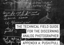 Appendix A of the Technical Field Guide for the Discerning Analog Photographer: push/pull processing calculations