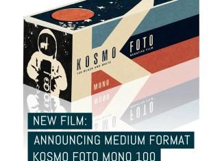 Cover: New film- announcing medium format Kosmo Foto Mono 100 120 format film