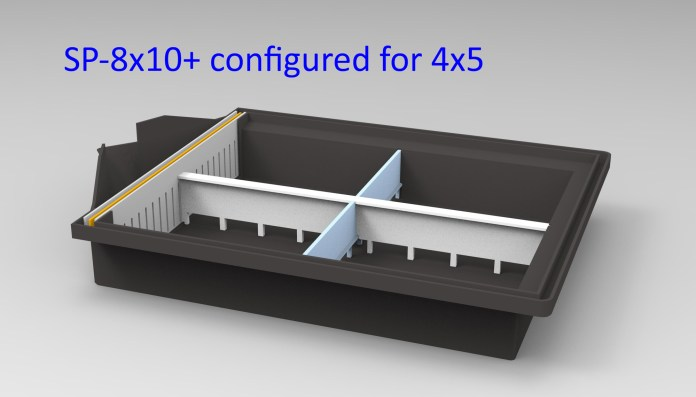SP-8x10+ - Configured for 4x5