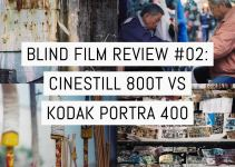 Blind film review #02: CineStill 800T vs Kodak Portra 400 in 120 format