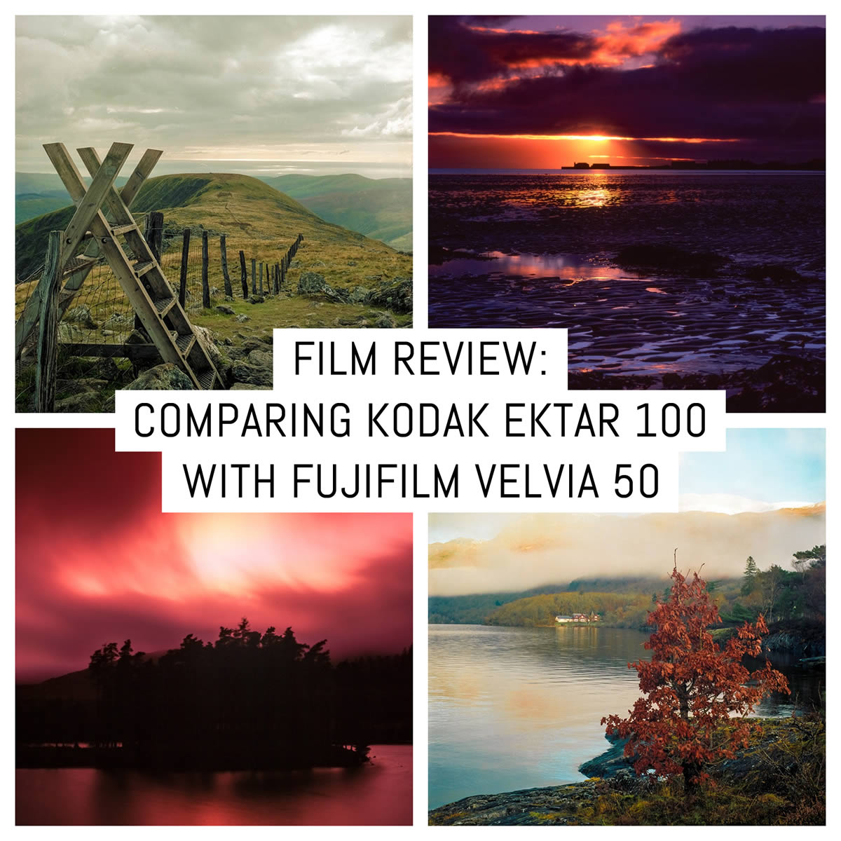 Film stock review: Comparing Kodak Ektar 100 to Fujifilm Velvia 50