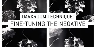 Darkroom technique- fine-tuning the negative