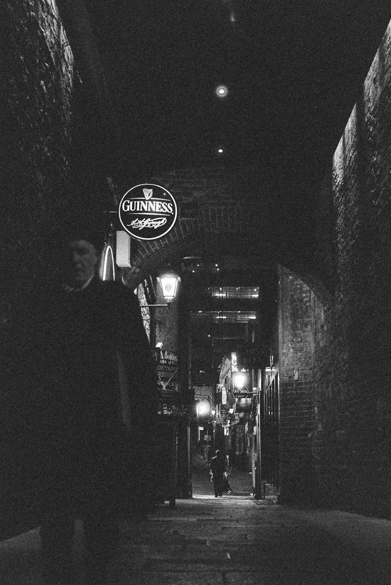 Merchant's Arch - 5 Frames With... ILFORD Delta 3200 Professional (EI 6400 _ 35mm _ Minolta SRT100x) - by Maxime Evangelista