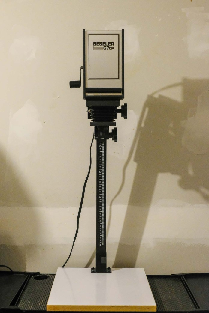 Budget darkroom - Beseler 67CP enlarger