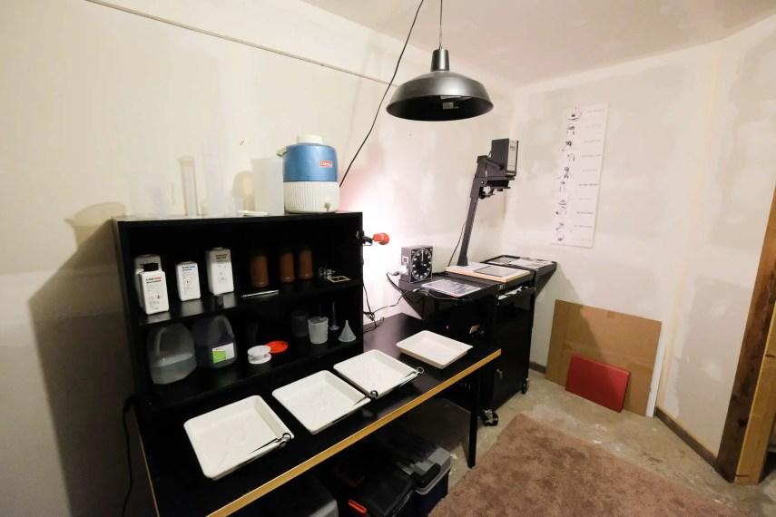 Budget darkroom - The Darkroom
