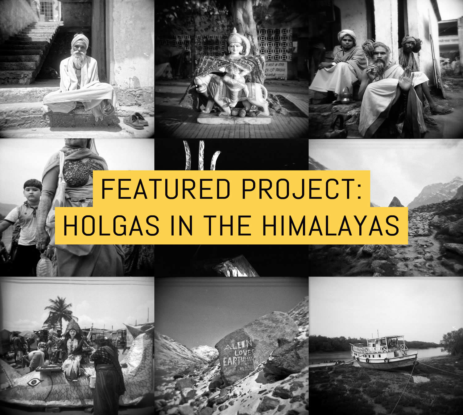 Holgas in the Himalayas – by Andrew Tonn