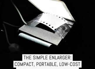 Cover - The Simple Enlarger - compact, portable, low-cost darkroom printing for all