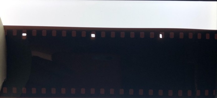 Figure 1 - 35mm film vs 126 film