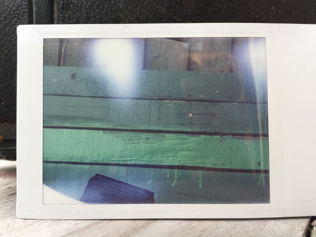 Fuji Instax colour test 01 result