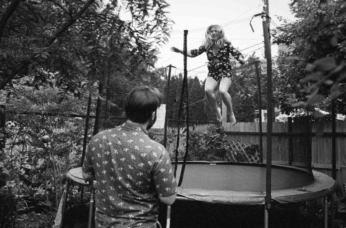 Trampoline, Nikon F2AS, 35mm f/1.4 AI, Tri-X 400
