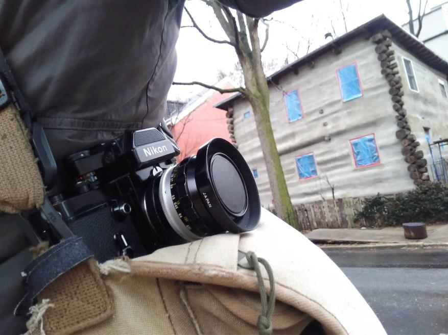 Nikon F2 outdoors