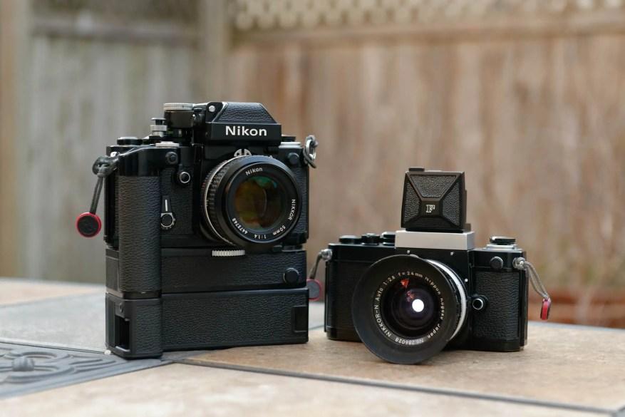 Nikon F2 pair