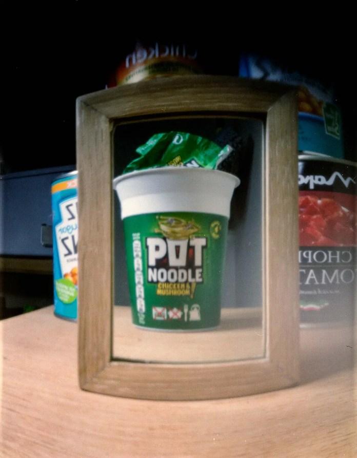 Pot Noodle - Fuji Pro 400H