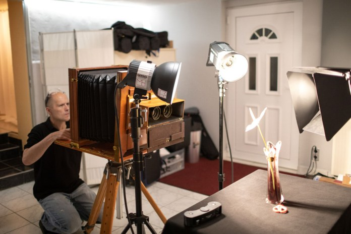 The final ULF stereo wet plate camera