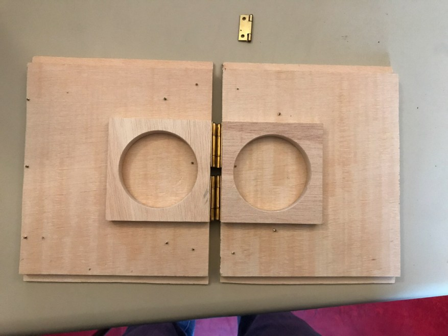 Lens boards (bare)