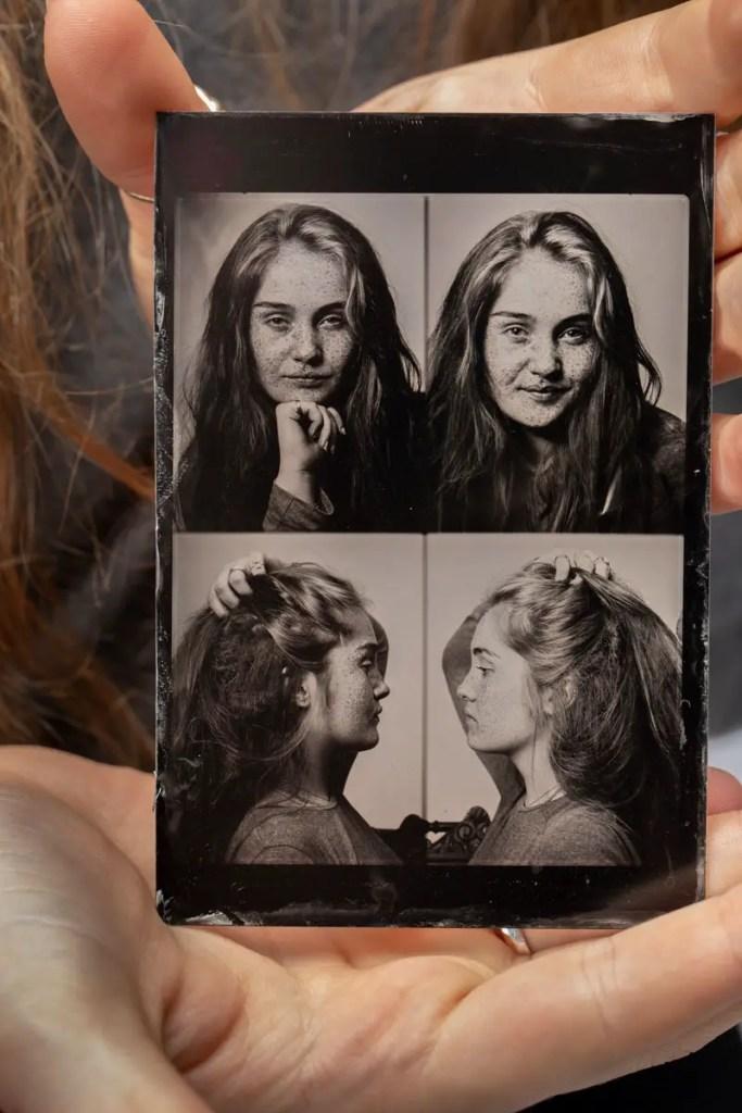 Clarissa Polaroid wetplate