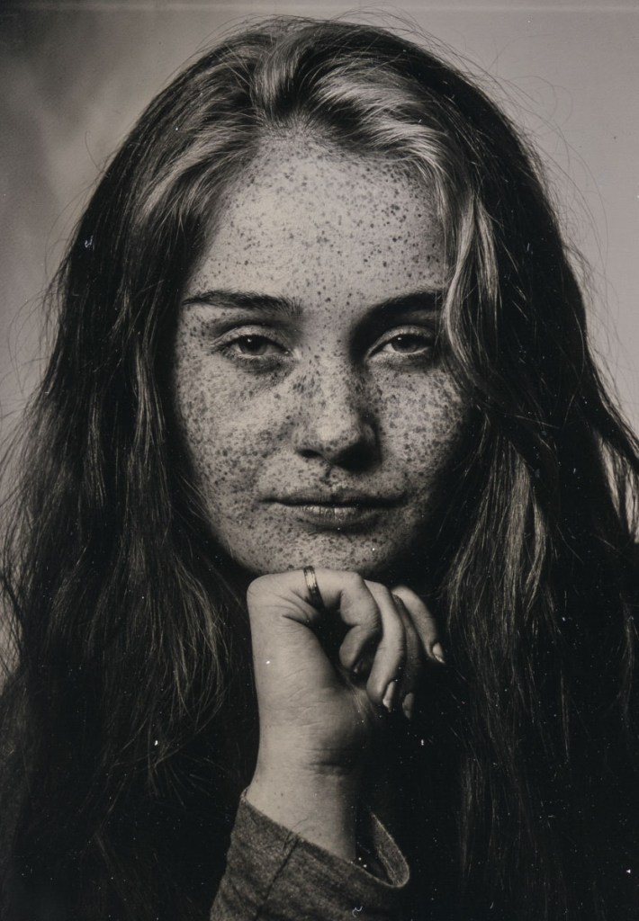 Clarissa Polaroid wetplate (single frame)