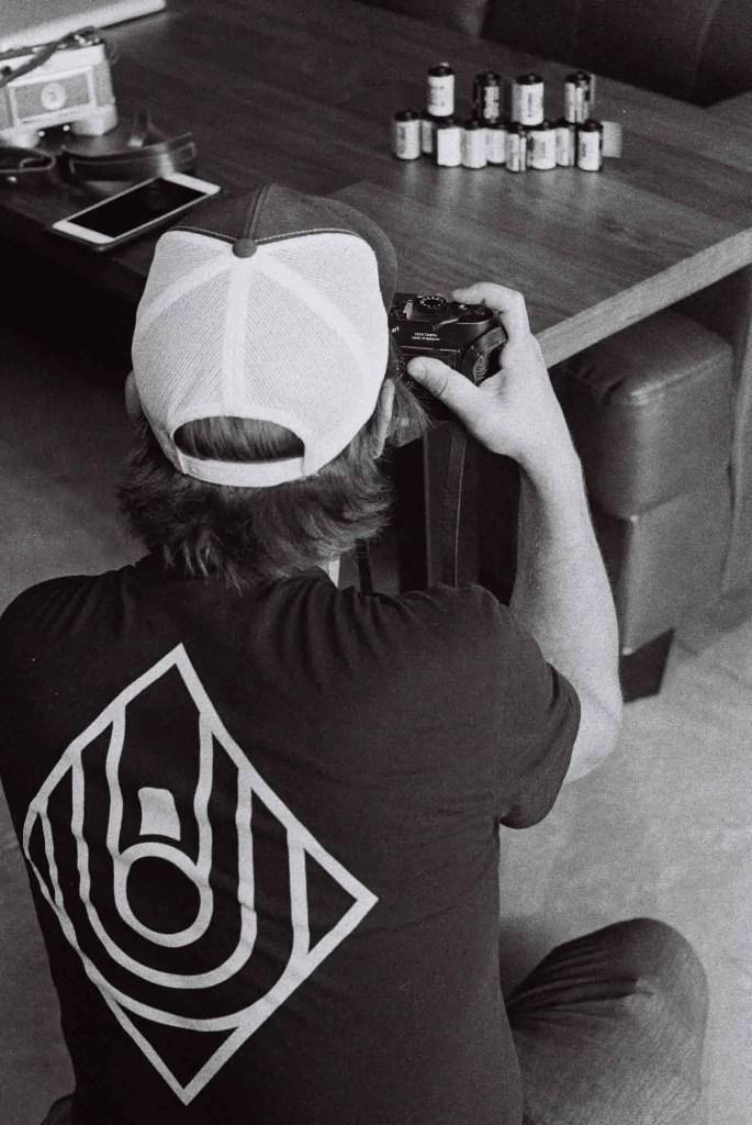 Brian testing film