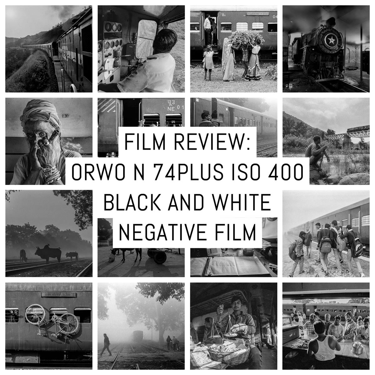 Film review: ORWO N 74plus ISO 400 black and white negative film