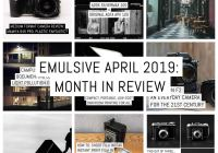 Cover: Month in review - 2019 April