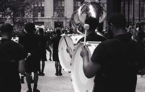 Following in Vivian Maier's footsteps - Bass Drum