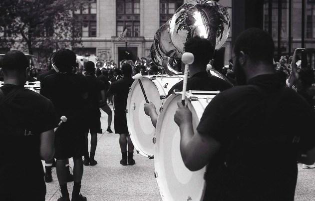 Following in Vivian Maier's footsteps - Bass Drum