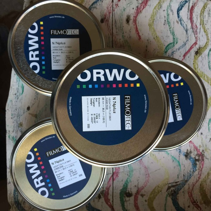 ORWO N 74plus tins