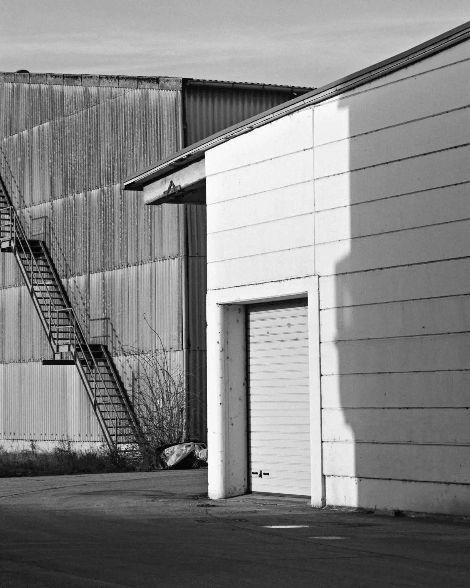 Warehouse architecture - M6, Summicron-M 50mm, Adox HR-50