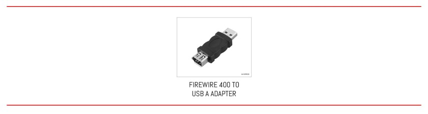 From FireWire 400 to USB A in one step.